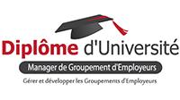 Logo DU MGE Diplôme d'Université Manager de Groupement d'Employeurs