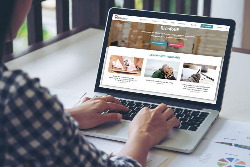 Plateforme RHinfoGE pour les actualités et dossiers dédiés aux Groupements d'Employeurs